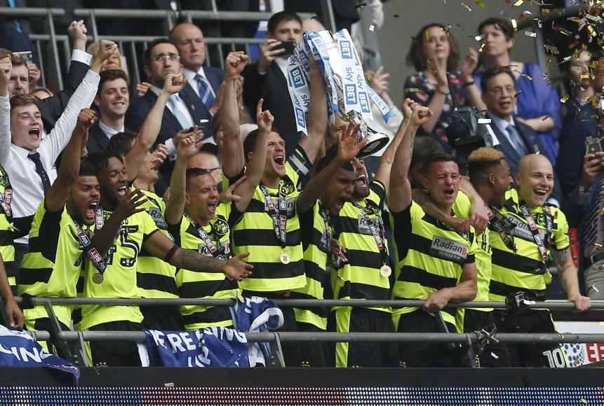 """""""HUddersfield"""" futbolininkų triumfas"""