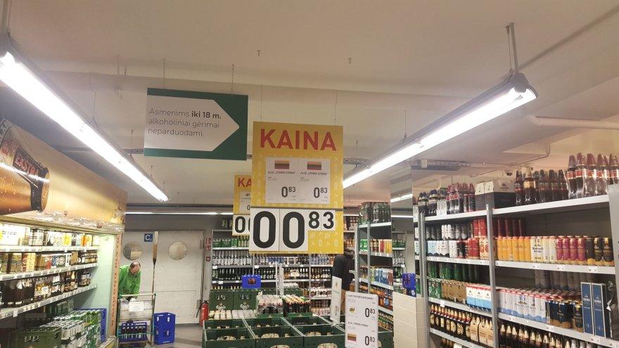 Prekybininkų gudravimai parduodant alkoholį