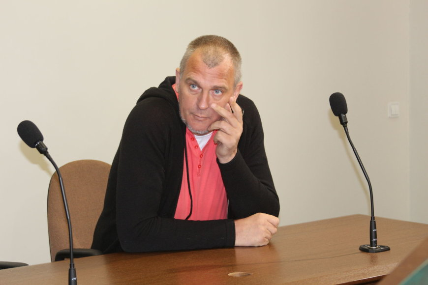 Gintaras Einikis Klaipėdos miesto apylinkės teisme