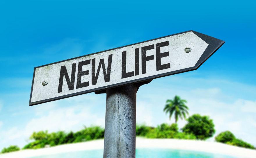 Naujo gyvenimo orientyras.
