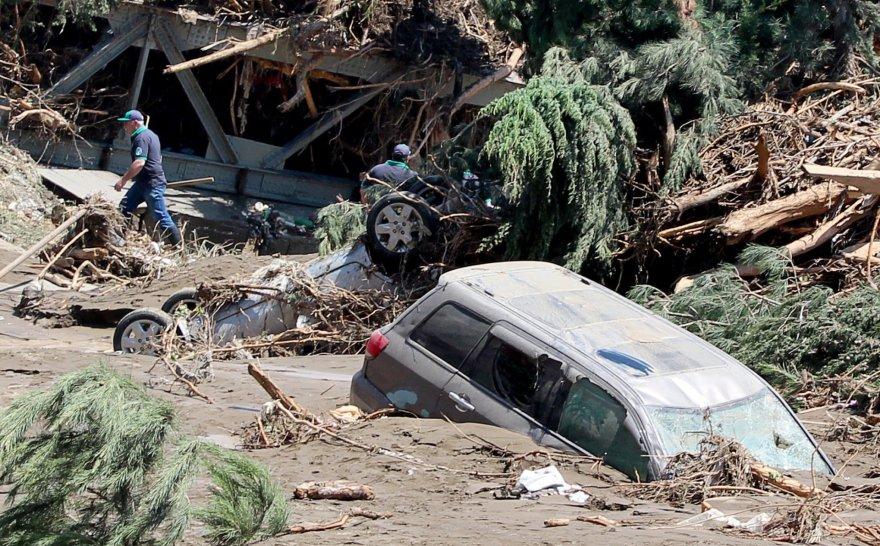 Potvynio Tbilisyje padariniai