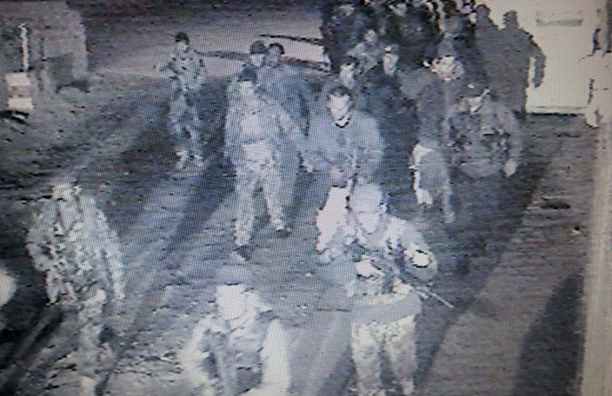 Afganistano saugumo pajėgos įvykio vietoje