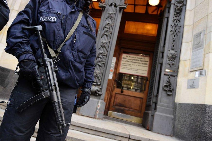 Vokietijos pareigūnai sulaikė du sirus