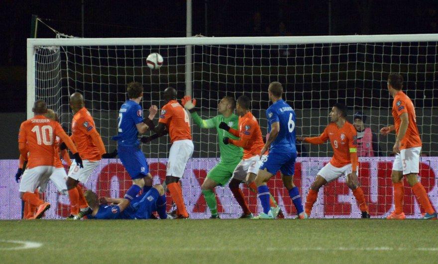 Islandija įveikė Nyderlandus