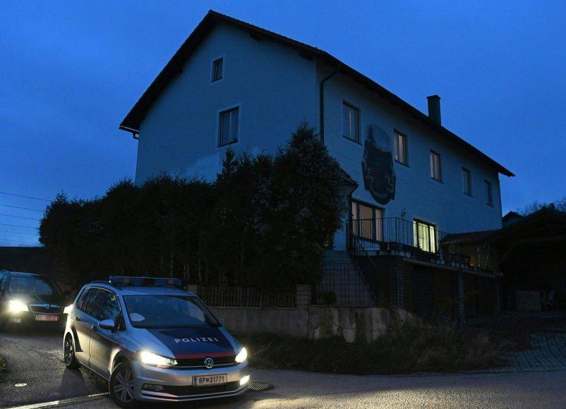 Namas Austrjoje, kuriame buvo rasti šešių žmonių lavonai