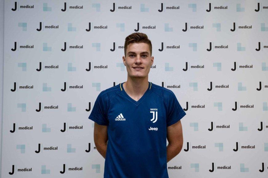 """""""Juventus"""" naujokas – Patrickas Schickas"""