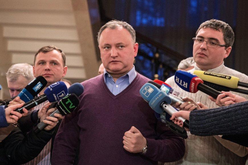 Igoris Dodonas – Moldovos socialistų partijos lyderis