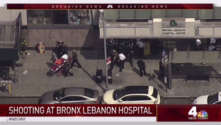 Niujorko ligoninę sukrėtė šaudynės