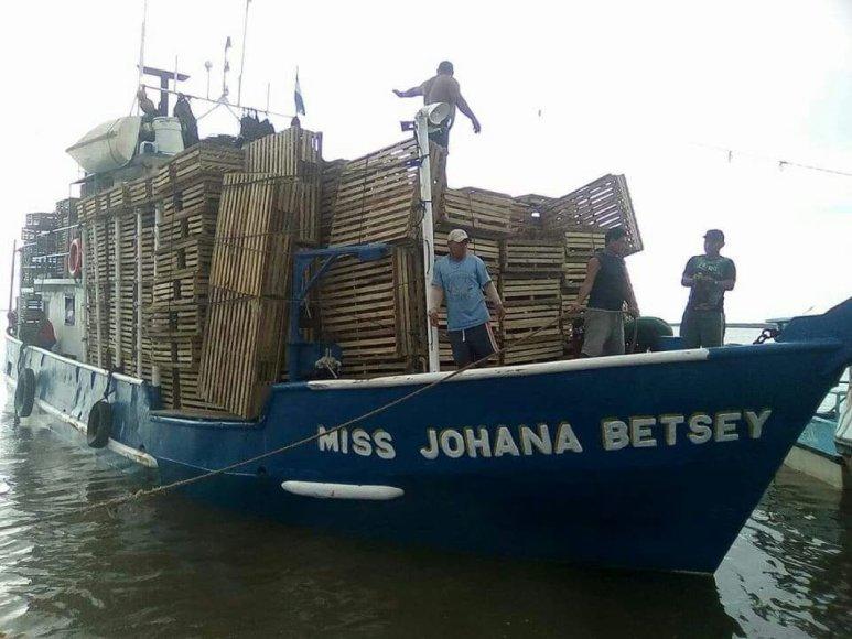 """Laivas """"Miss Johana Betsey"""""""