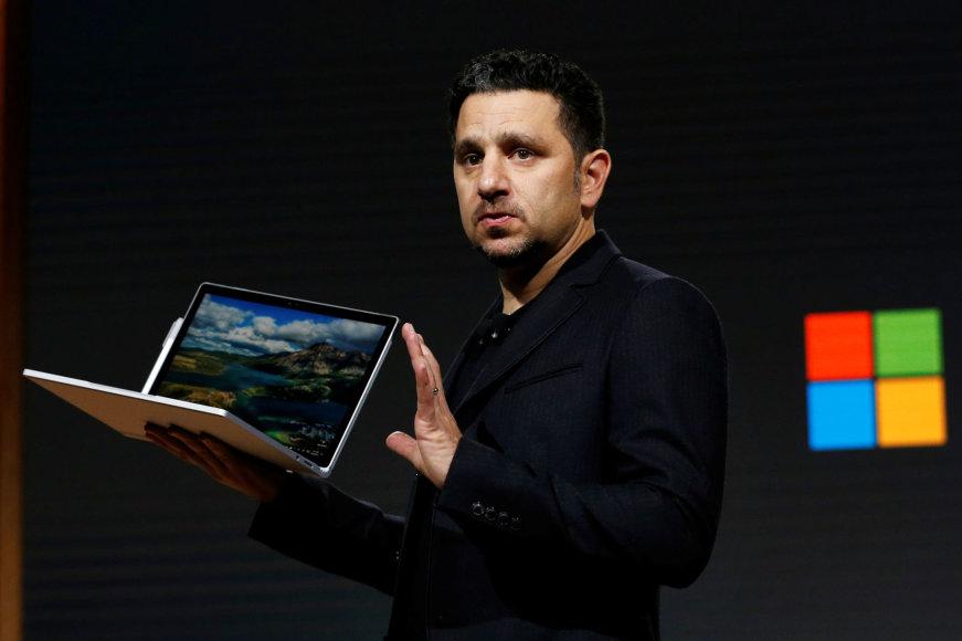 """""""Microsoft"""" naujovių pristatymas"""