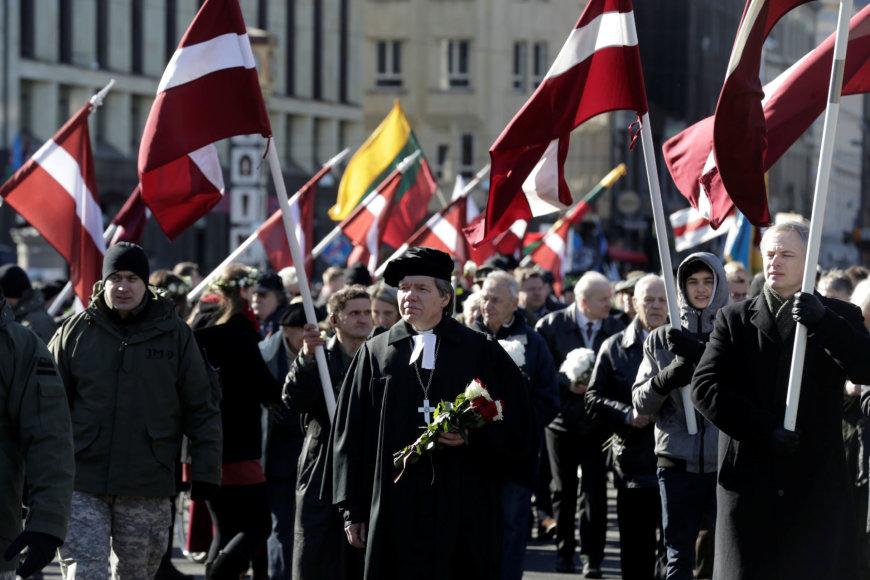 Eitynėss latvių SS legiono karių atminimui