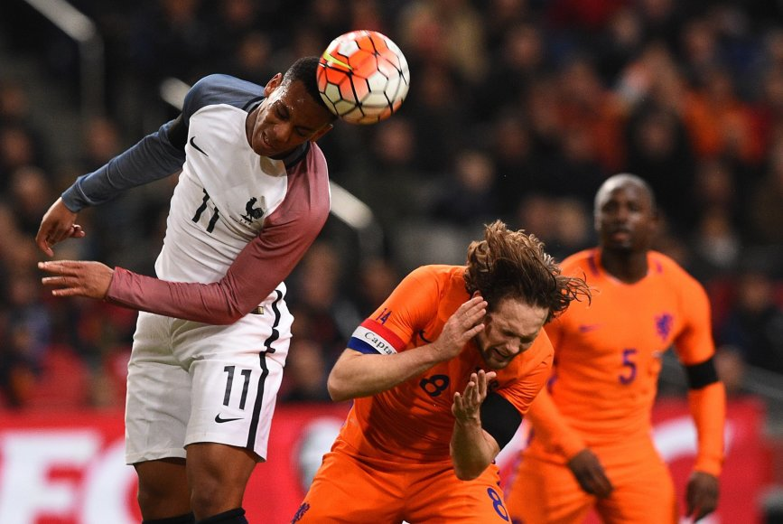 Olandijos ir Prancūzijos rinktinės
