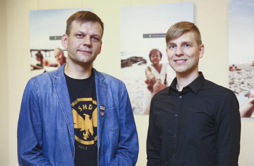 Artūras Rumiancevas ir Šarūnas Ledas