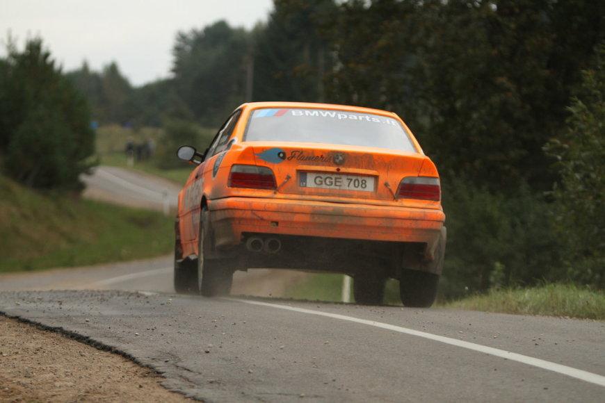 Karolio Raišio ir Mindaugo Kašalyno BMW M3