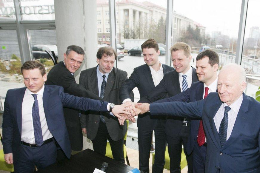 Remigijus Šimašius pristatė naująją Vilniaus vadovybę