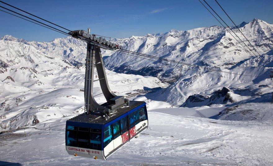 Tignes, Prancūzijos Alpės