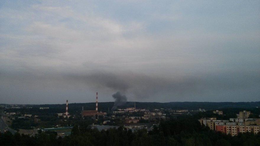 Gaisras Vilniuje