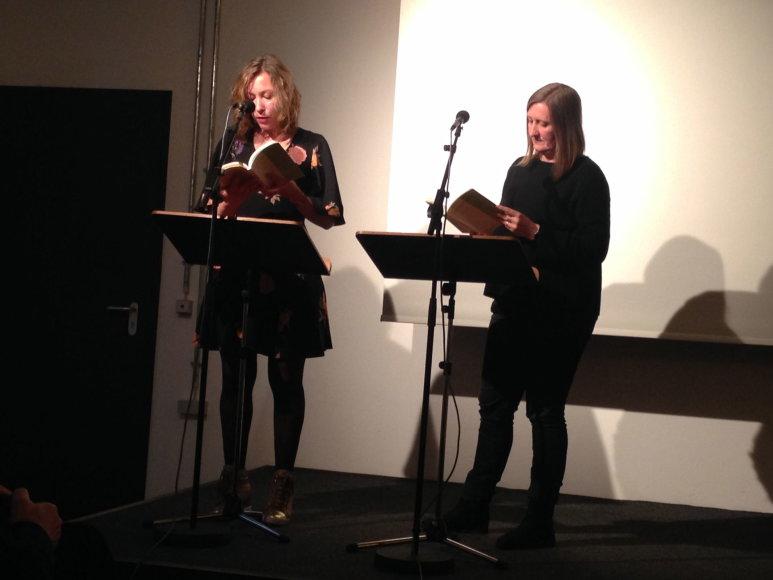 Lietuvių poezijos pristatymas Berlyne