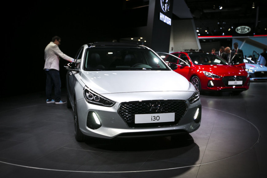 """Naujasis """"Hyundai i30"""""""