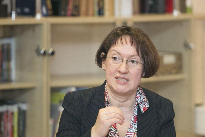 Lenkijos instituto direktorė Malgorzata Kasner