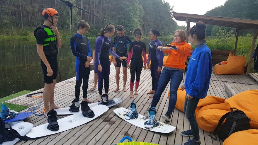 Studentai iš Rumunijos  Druskininkuose