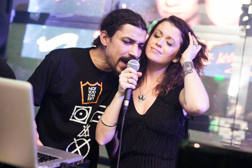 Erica Jennings ir Viktoras Diawara