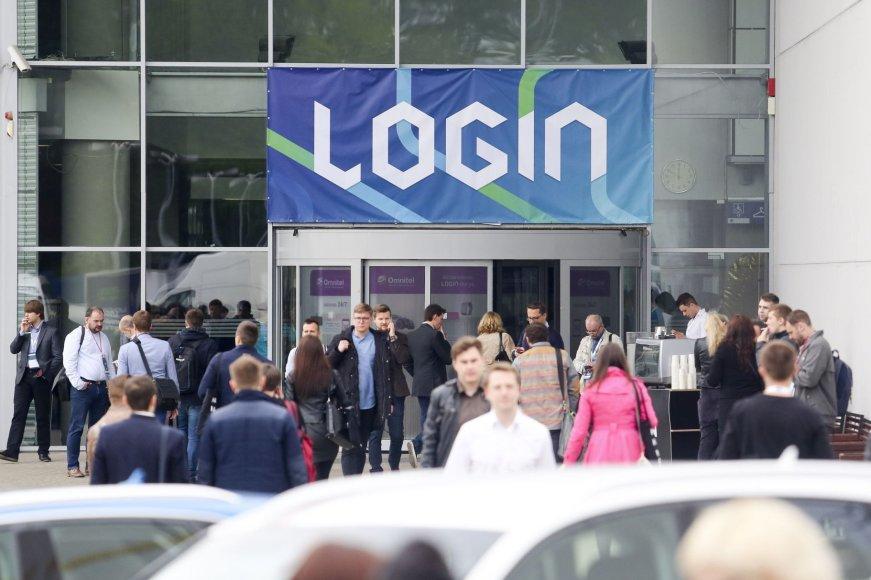 """Vilniuje Litexpo parodų rūmuose prasidėjo progreso konferencija """"Login"""""""