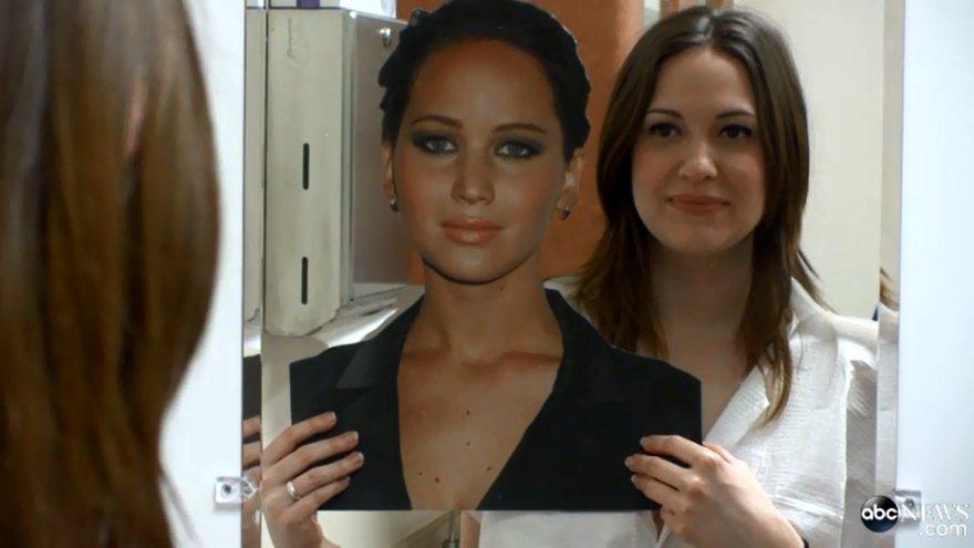 Amerikietė Kitty pasidarė plastines operacijas, kad būtų panaši į Jennifer Lawrence