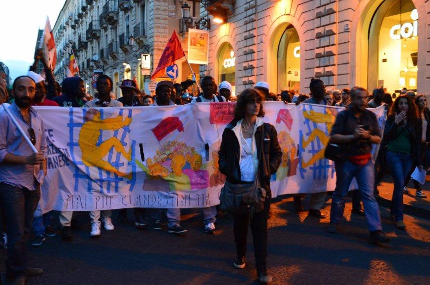 Protestas Sicilijoje