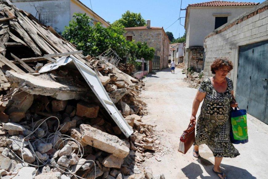 Graikija po žemės drebėjimo