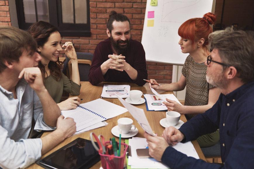 123rf.com nuotr. / Kūrybiški žmonės
