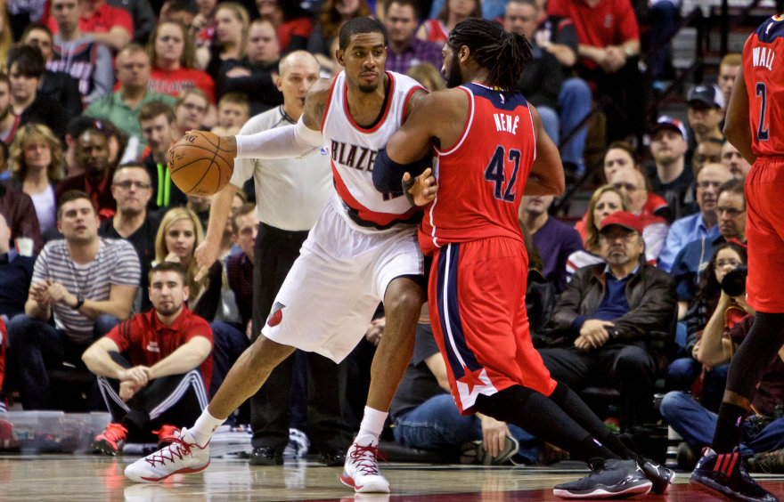 LaMarcusas Aldridge'as ir Nene