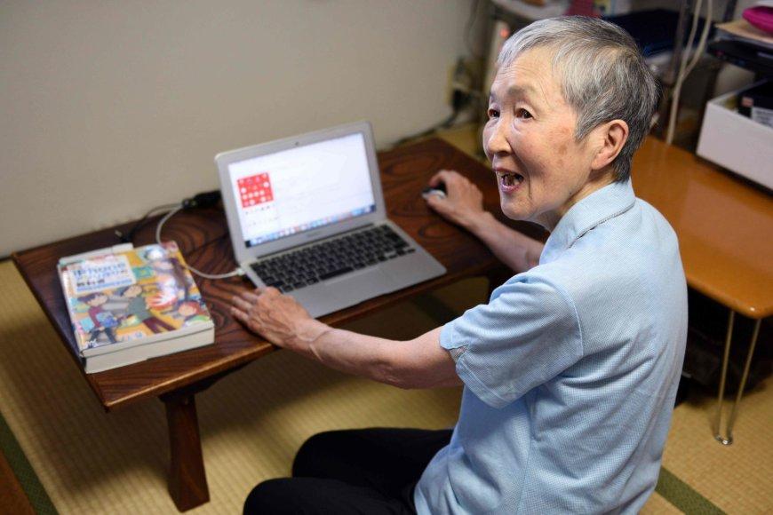 """Masako Wakamiya - """"iPhone"""" programėlių kūrėja"""
