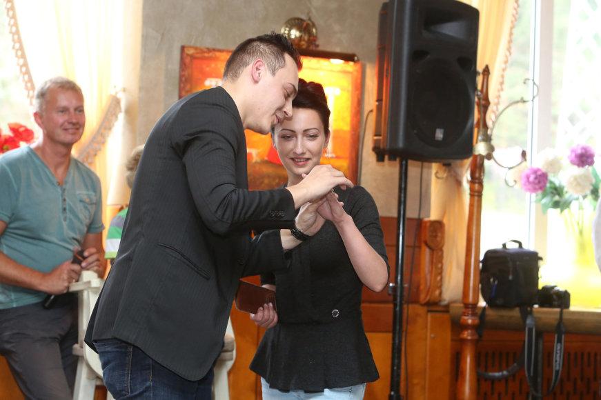 Raimonda Balsytė ir Nicholas Kin