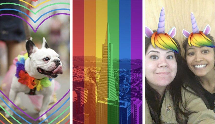 LGBTQ bendruomenei skirti nuotraukų filtrai ir kaukės