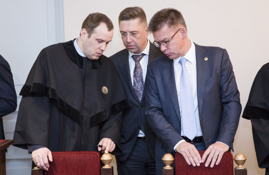 Andrius Janukonis ir Linas Samuolis