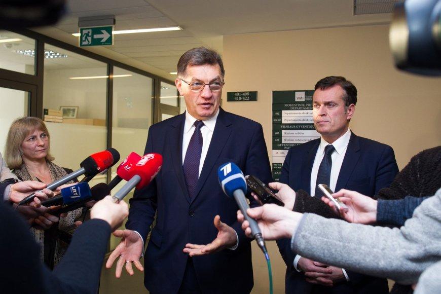 Algirdas Butkevičius ir Dainoras Bradauskas