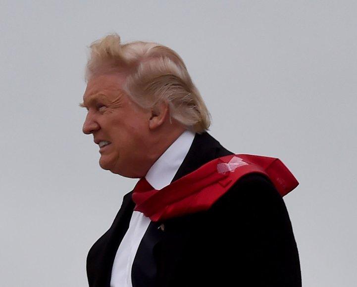 Donaldas Trumpas Indianapolyje