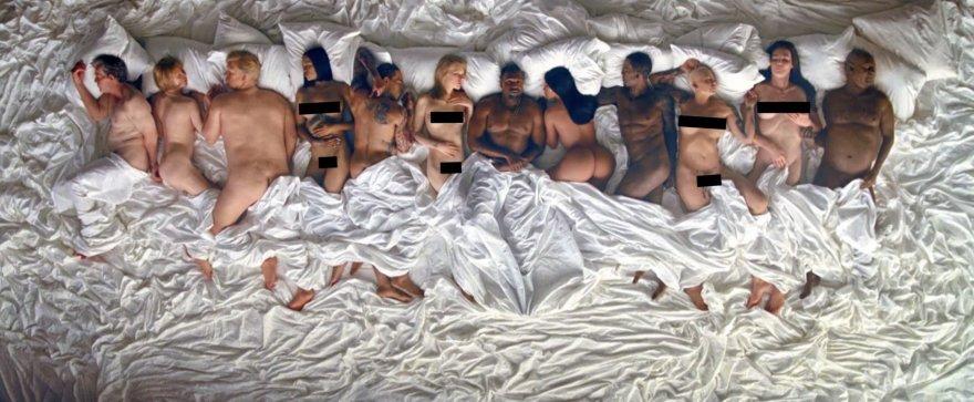 """""""Scanpix""""/Xposurephotos.com nuotr./Kanye Westo vaizdo klipas """"Famous"""""""