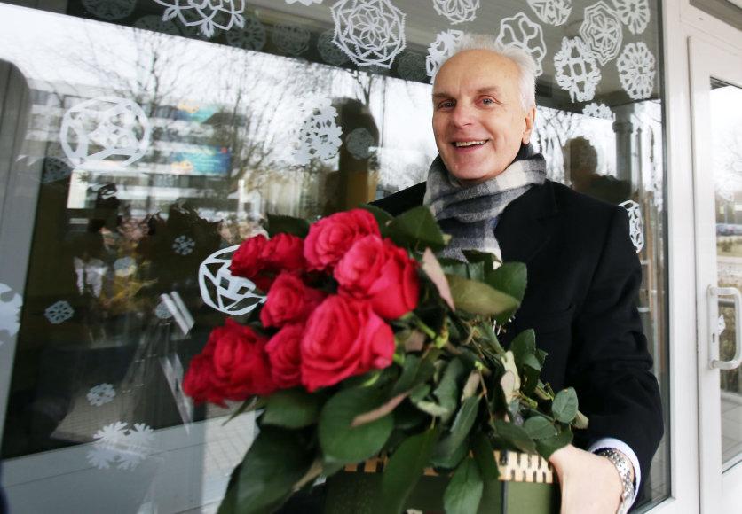 Buvęs gimnazijos direktorius Bronislovas Burgis