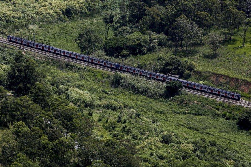 Traukinys Brazilijoje