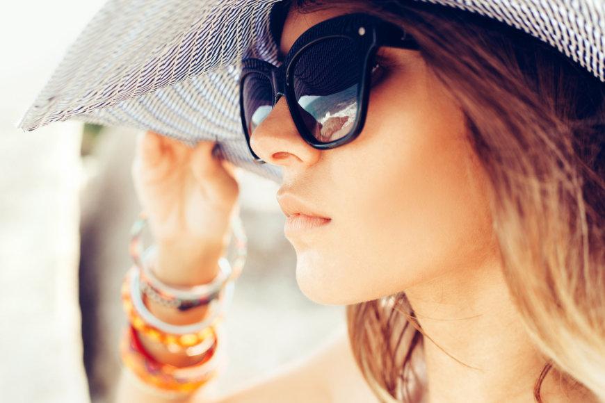 Odą vasaros metus būtina saugoti nuo saulės spindulių