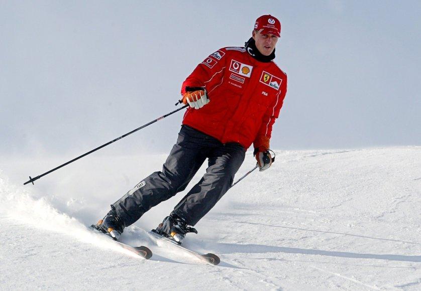 Michaelis Schumacheris 2004-ųjų sausį