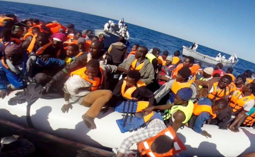 Migrantai Viduržemio jūroje