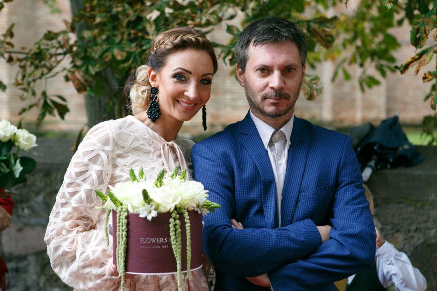 Eriko Ovčarenko / 15min nuotr./Gerda Stiklickienė ir Andrius Žemaitis