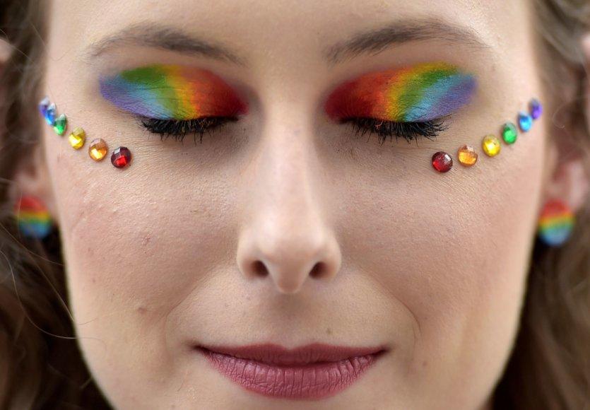 Belgijos LGBT parado dalyvė