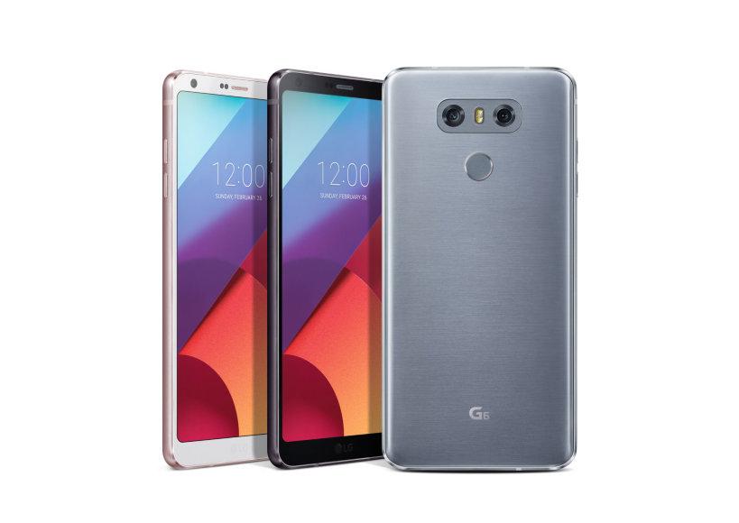 """LG G6"" telefonas"