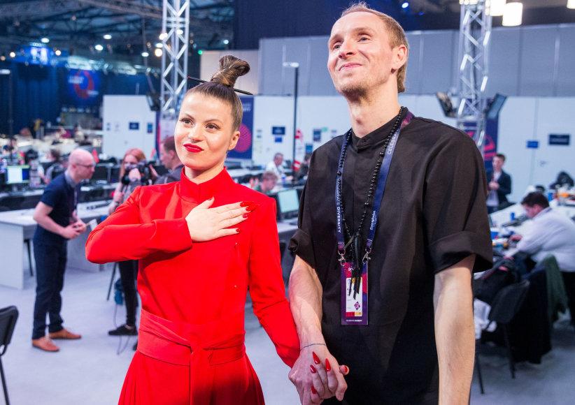 """Susitikimas po antrojo """"Eurovizijos"""" pusfinalio"""