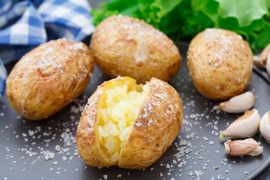Bulvės su druska