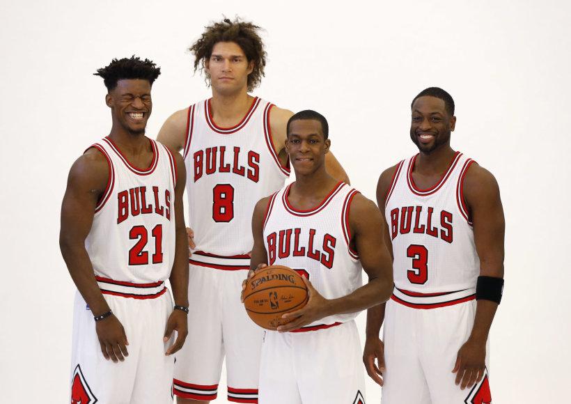 Jimmy Butleris, Robinas Lopezas, Rajonas Rondo ir Dwyane'as Wade'as